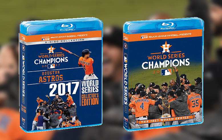 Celebrate The First World Series Championship In The History Of The Houston Astros With Two Must-Have Fall Classic Mementos