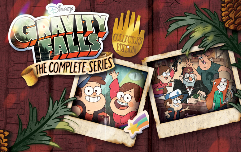 Gravity Falls: The Complete Series – Beloved Disney Series Available as a Complete Series Box Set