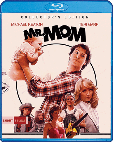 Mr. Mom Collector's Edition Blu-ray