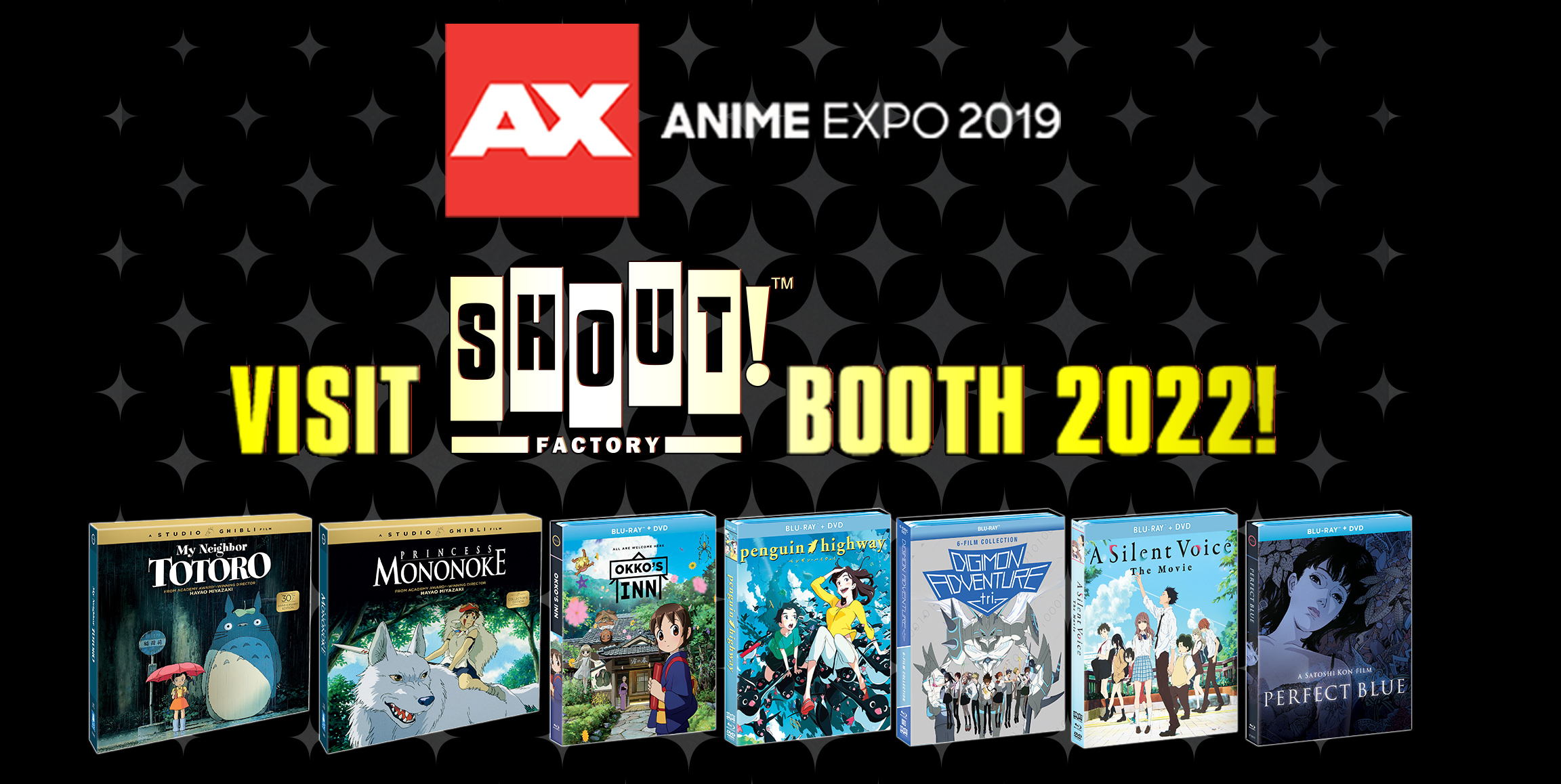 Shout! Factory Unveils Its Anime Expo 2019 Lineup, Featuring World Renowned Anime Brands, Popular Home Entertainment Products And Interactive Fan Activities