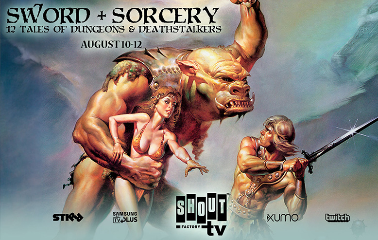 Shout! Factory TV Presents Sword + Sorcery Three-Day Livestream Event Beginning August 10