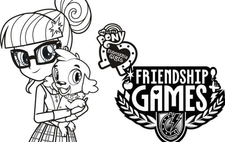 my little pony equestria girls friendship games coloring sheets shout blog - Equestria Girls Coloring Pages