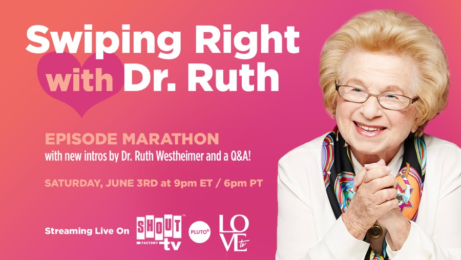 Swiping Right With Dr. Ruth